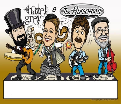 Hazel Grey and the Hubcaps